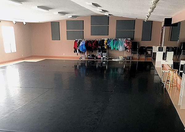 An image of the studio for rental.